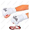 Накладки (перчатки) для каратэ (битки) Matsa MA-0009-W (PL, хлопок, эластан, белый)