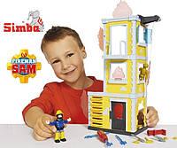 Детский Набор для игры тренировочная база Пожарный Сэм Simba