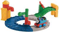 Детская железная дорога игрушкаа из серии Томас и друзья Fisher Price