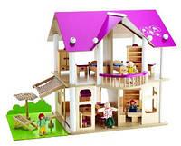 Кукольный Домик деревянный Eichhorn 2513