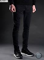 Мужские джинсы Staff - Skinny stretch Black Art. BLK0001-1 (чёрный)