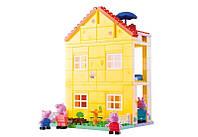 Конструктор для детей Свинка Peppa Любимый дом 107 деталей Big