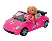 Кукла Еви Minniе Mouse в кабриолете Simba