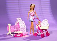 Кукла Штеффиi с Младенцем Simba