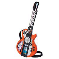 Гитара музыкальный инструмент для детей  с МР3 детская Simba