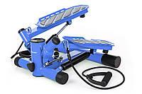 Степпер Hop-Sport HS-30S blue для дома и спортзала , Львов