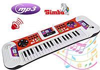 Детское пианино синтезато с Mp3 игрушка  Simba