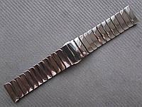 Браслет для часов керамический, глянец. Черный. 22 мм, фото 1
