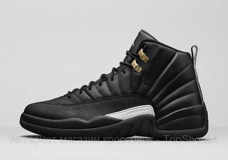 Кроссовки Nike Air Jordan 12 Retro Black Nylon