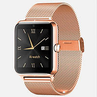 UWatch Умные часы Smart Z50 Gold(+Гарантия)