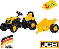 Детский трактор с прицепом Rolly toys Rolly kid 012619