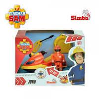 Десткая игрушка для мальчика Лодка ( Скутер) Пожарного Сэма Simba