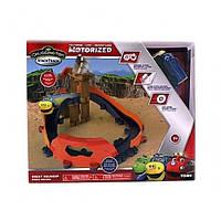 Детский Игровой набор «Каменный путь» с паровозиком Брюстером на батарейках ( Чаггингтон Chuggington ) TOMY