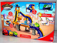 """Игровой набор для детей  """"Тормозной путь"""" с Коко  Chuggington Чаггингтон TOMY"""