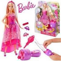 Кукла Barbie-принцесса с волшебными волосами для девочек