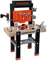 Игрушечная Мастерская, детский набор инструментов  Black & Decker Smoby