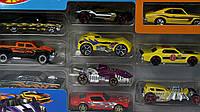 Детский игровой набор автомобилей  (10ШТ.) HOT WHEELS,