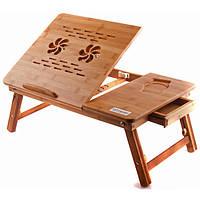 Бамбуковый столик для ноутбука UFT T26