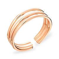 Золотое кольцо универсальный размер