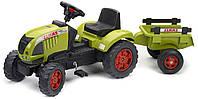 Детский Трактор Педальный с Прицепом Claas Ares FALK 992C