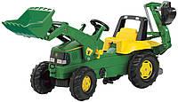 Трактор детский на педалях Junior John Deere Rolly Toys 811076