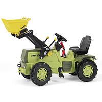 Детский Трактор педальный с ковшом Rolly Toys 046690