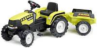 Трактор детский на педалях с Прицепом Farmer Falk 1023AB