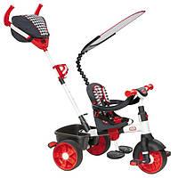 Велосипед трехколесный детский с ручкой 4в1 Trike Sports Editon Little Tikes красный