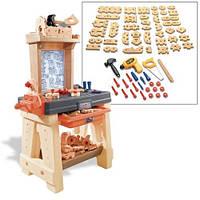 Игровой набор инструментов для мальчиков Верстак Мастерская Умелые руки  Step2
