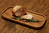 Оригинальный поднос для стейка из дерева