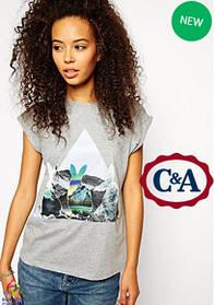 Женские футболки торговой марки C&A