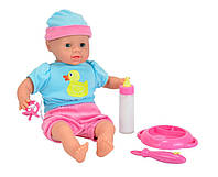 Пупс кукла Лаура Лаура с набором для кормления Simba