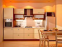 Кухонный не дорогой, стильный комплект для малогабаритных квартир по доступной цене длинной 2,0 м  Лола