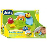 Игрушка для ванной Остров мыльных пузырей Chicco