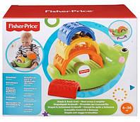 Ирушка для детей Пирамидка Крокодил Складывай и качай  Fisher-Price фишер прайс