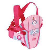 Рюкзак-переноска для куклы Baby Born Zapf Creation Беби Борн Рюкзак кенгуру