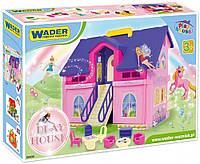 Игровой набор  Домик для кукол WADER PLAY HOUSE Вадер