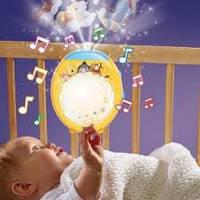 Детский музыкальный ночник-проектор Tomy  Winnie the Pooh 71862