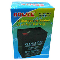 Аккумулятор свинцово-кислотный GDLITE GD-640(6V,4.0Ah)