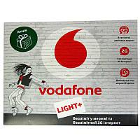 Стартовый пакет     Vodafone Light  25грн