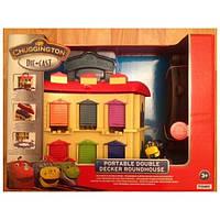 """Детская игрушка железная дорога Чаггингтон """"Депо с подъемным механизмом"""" Chuggington"""
