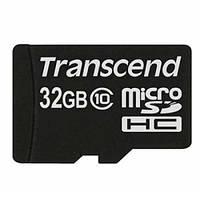 Карта памяти   micro-SDHC32Gb(UHS-1) Transcend Class10 no adapter(Premium 400х)