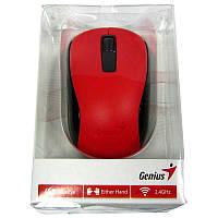 Беспроводная мышка Genius NX-7005 красная, USB