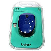 Беспроводная мышка Logitech M171 Blue  USB