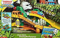 Игрушечная железная дорога паравозик Томас Приключения в джунглях