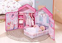 Домик для куклы  baby born  Annabell Розовые сны  аксессуары