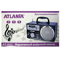 Портативная колонка Atlanfa AT-R83 (аккумулятор,FM,USB;SD)