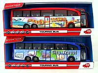 Детская игрушка для мальчика Dickie Туристический автобус фрикционный