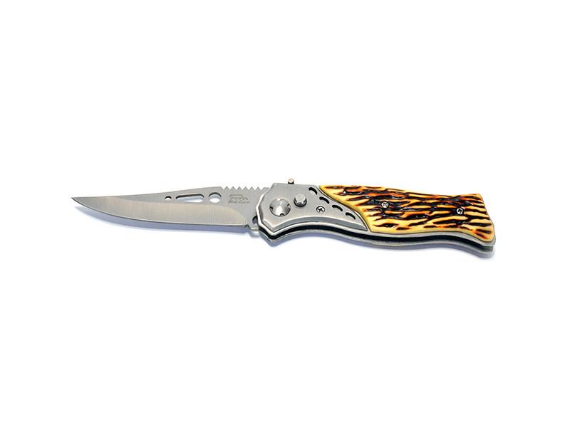 Нож выкидной ручка под кость №2