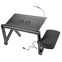 Столик трансформер для ноутбука UFT YOKO VIP Black